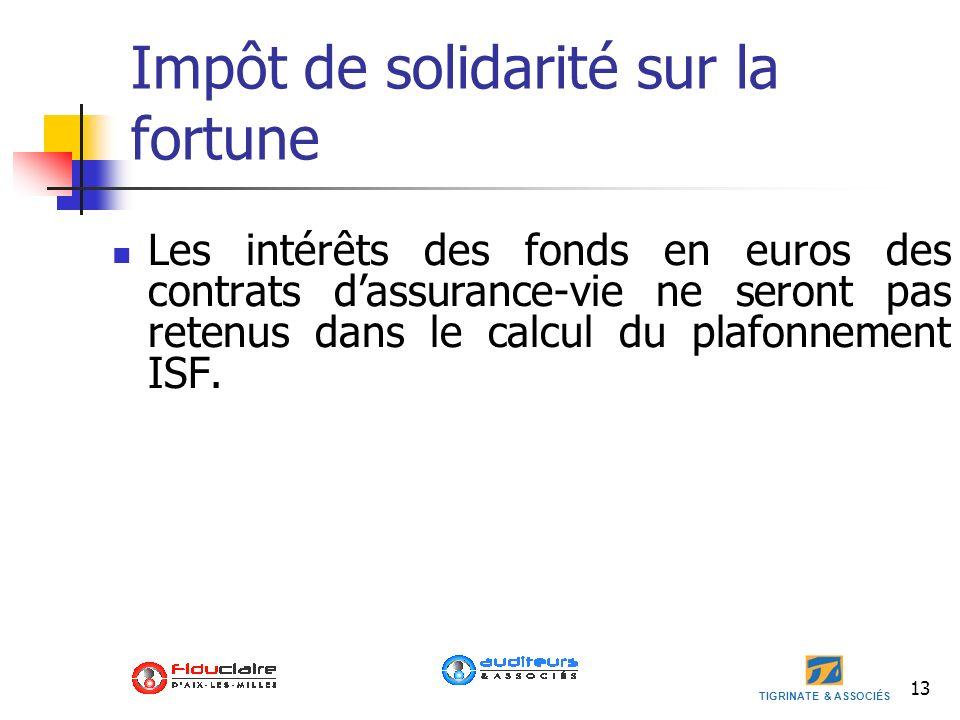 Impôt de solidarité sur la fortune