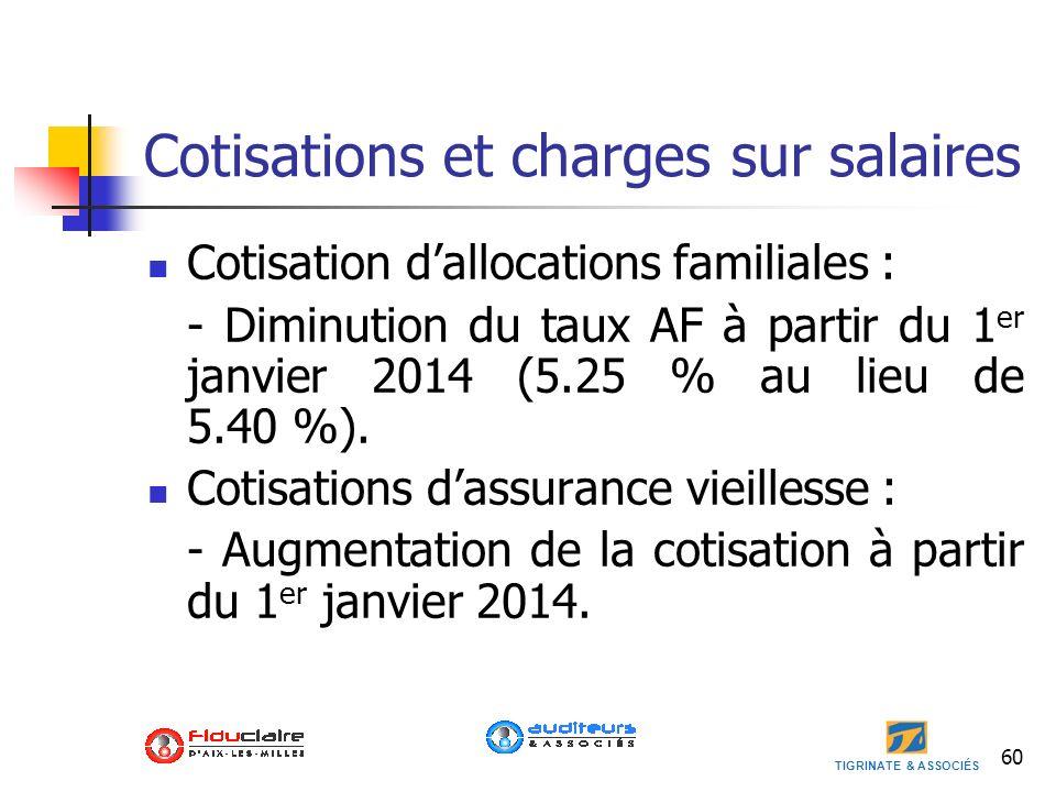 Cotisations et charges sur salaires
