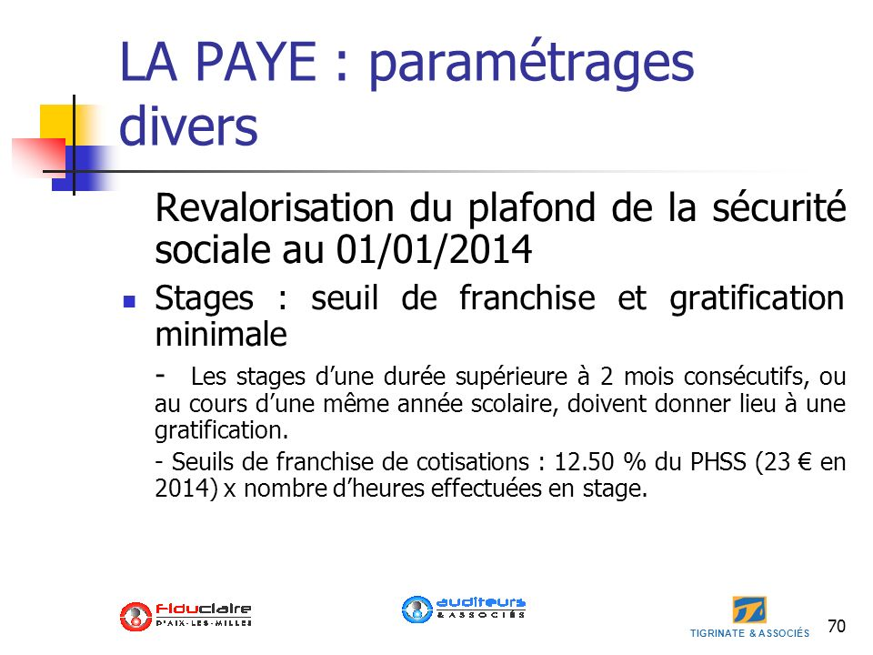 Loi de finances 2014 loi de finances rectificative 2013 - Plafond retraite securite sociale 2013 ...
