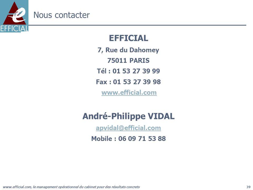 EFFICIAL André-Philippe VIDAL