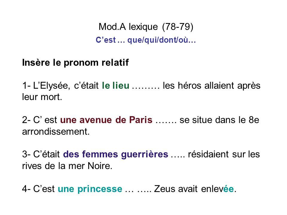 Des noms mythologiques deviennent des noms de lieux ppt for Que visiter dans le 78