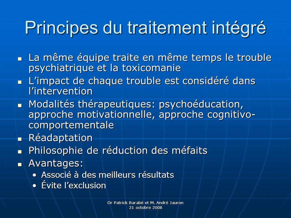 Principes du traitement intégré