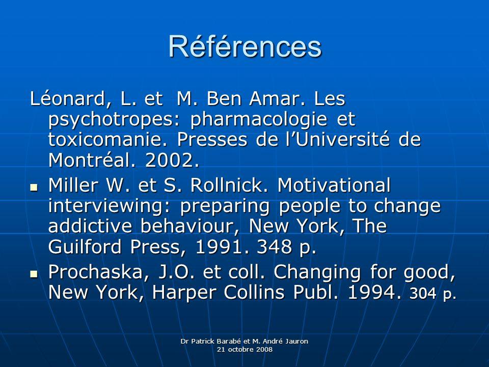 Dr Patrick Barabé et M. André Jauron 21 octobre 2008