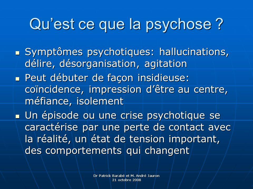 Qu'est ce que la psychose