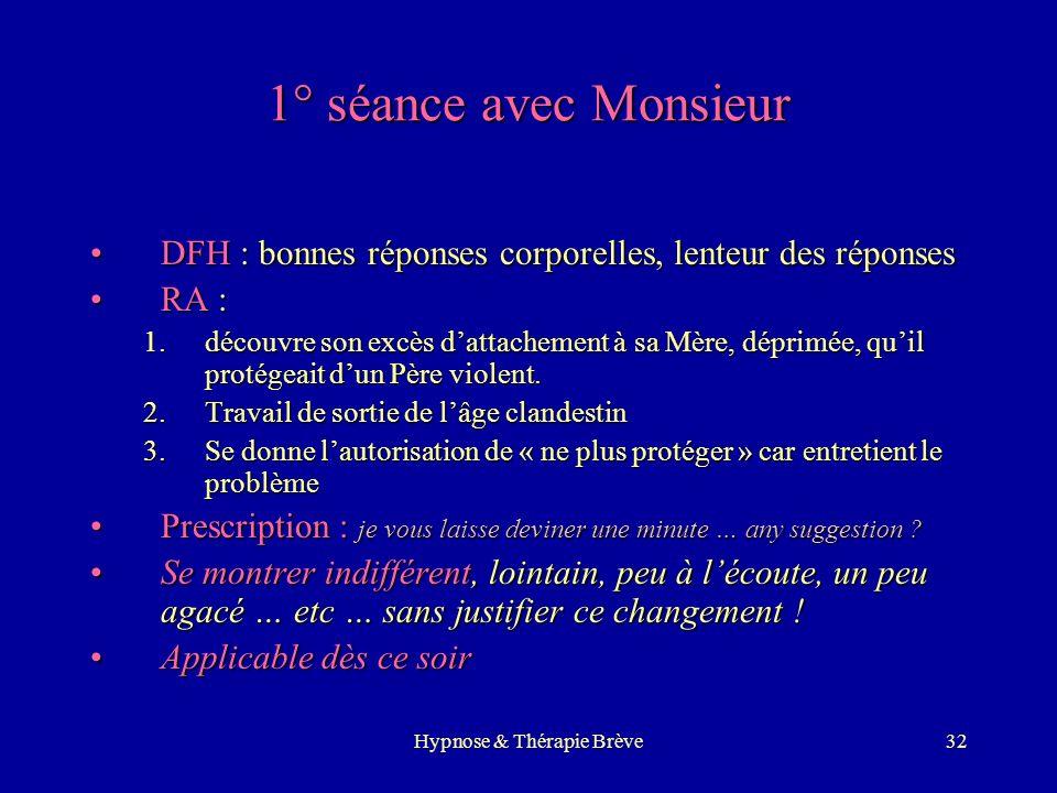 Hypnose & Thérapie Brève