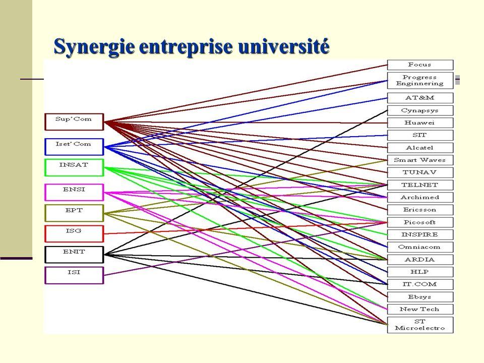 Synergie entreprise université
