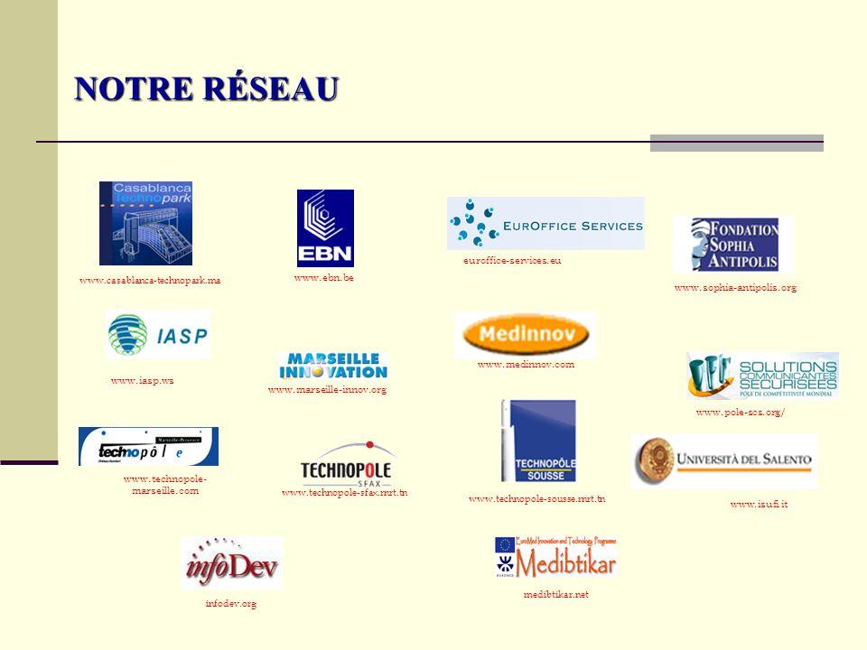 NOTRE RÉSEAU euroffice-services.eu www.ebn.be