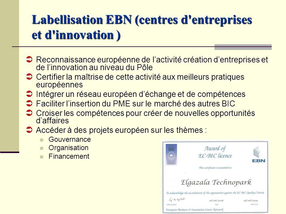 Labellisation EBN (centres d entreprises et d innovation )
