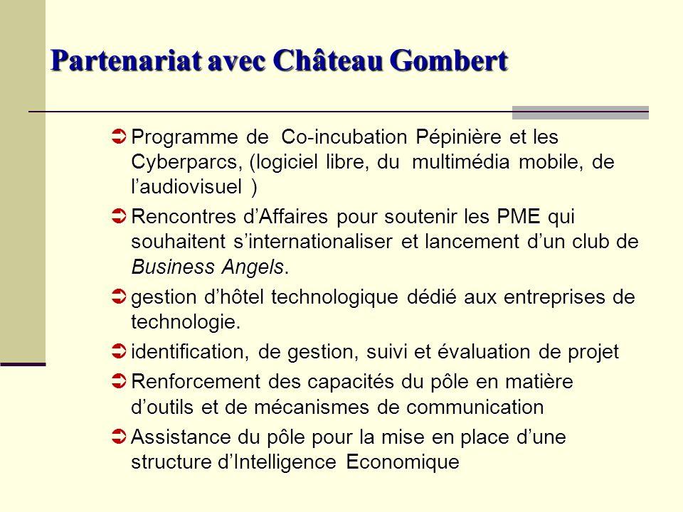 Partenariat avec Château Gombert