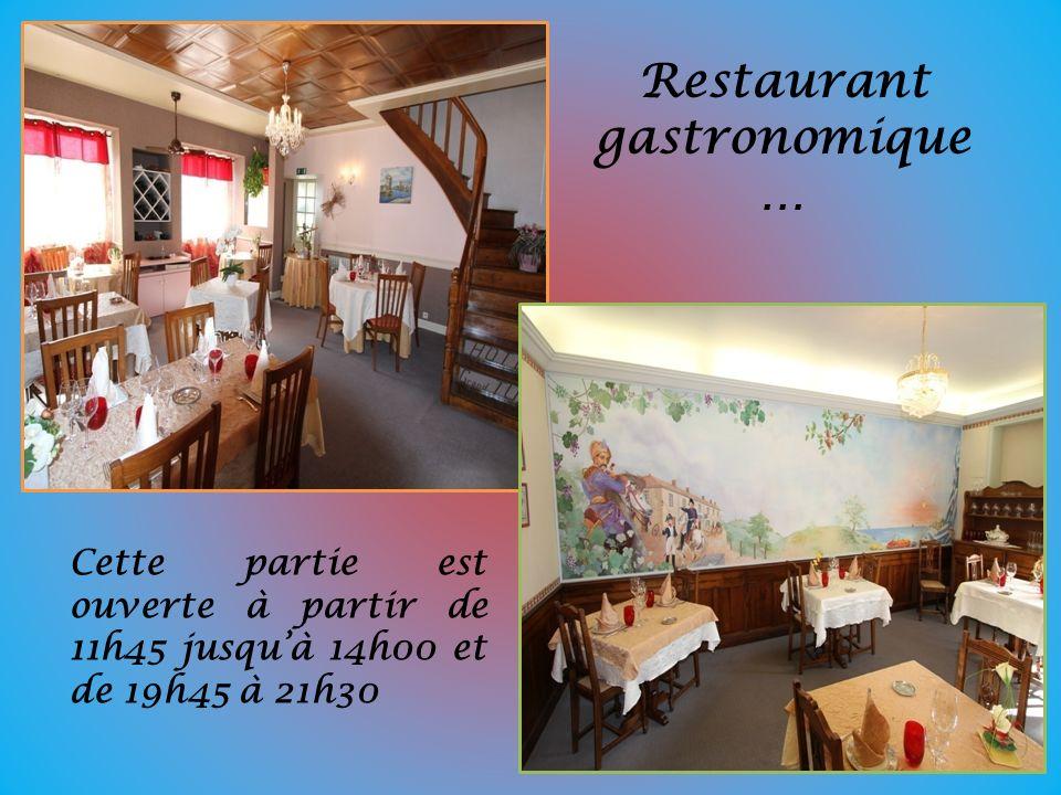 Restaurant gastronomique…
