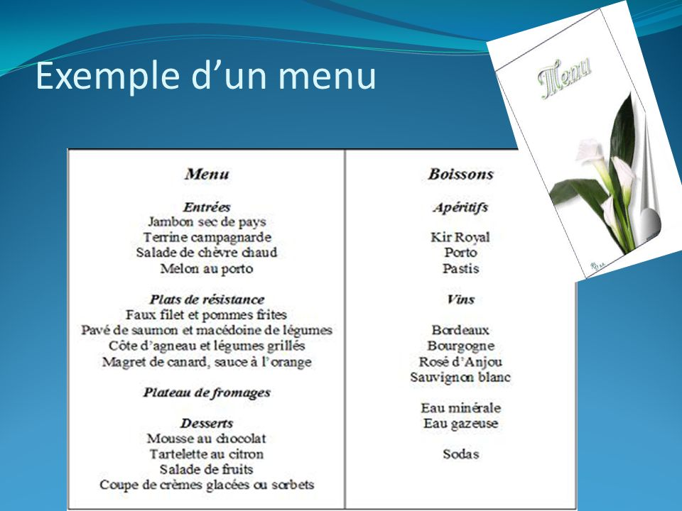 Exemple business plan en francais