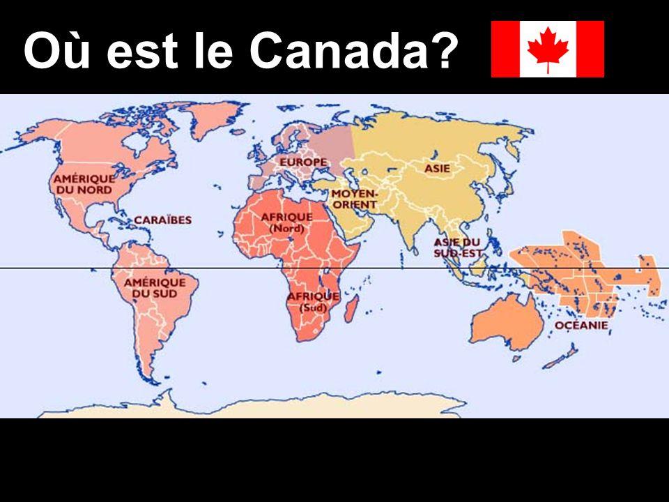Où est le Canada