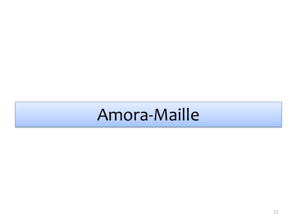 Amora-Maille