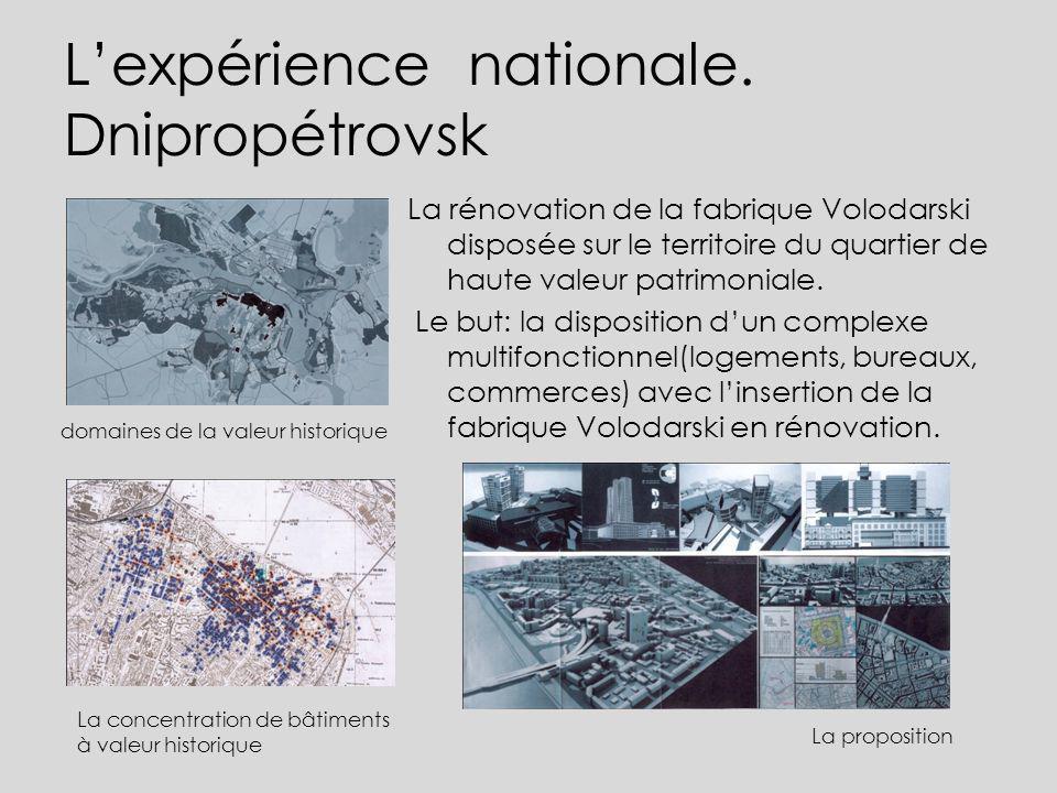 L'expérience nationale. Dnipropétrovsk