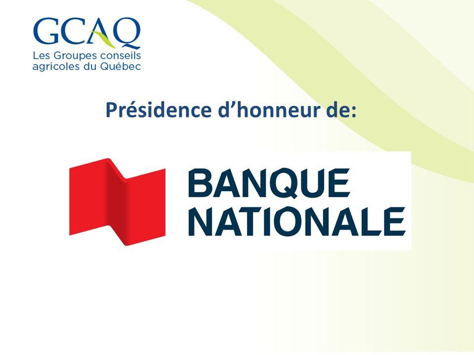 Présidence d'honneur de: