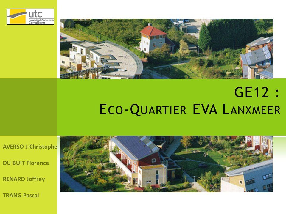 GE12 : Eco-Quartier EVA Lanxmeer
