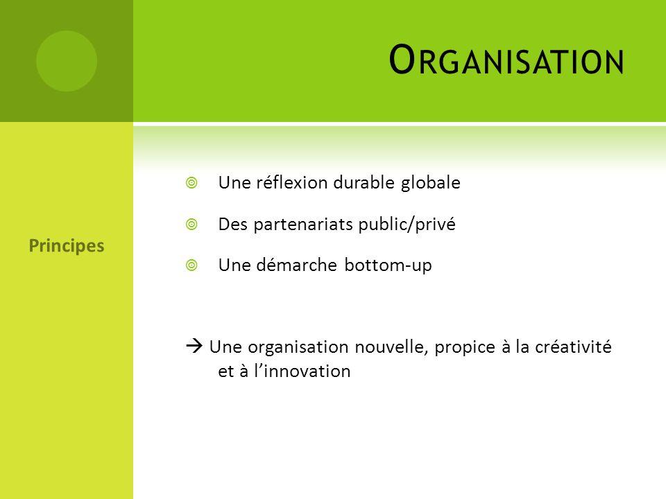 Organisation Une réflexion durable globale