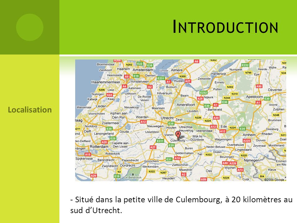 Introduction Localisation
