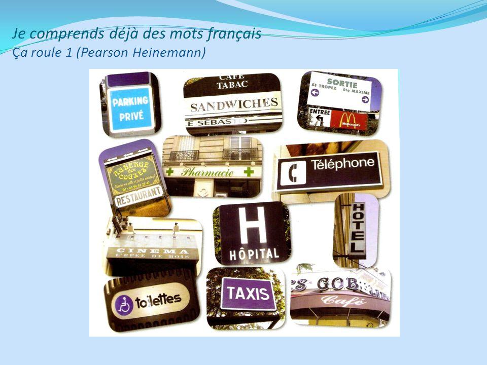Je comprends déjà des mots français Ça roule 1 (Pearson Heinemann)