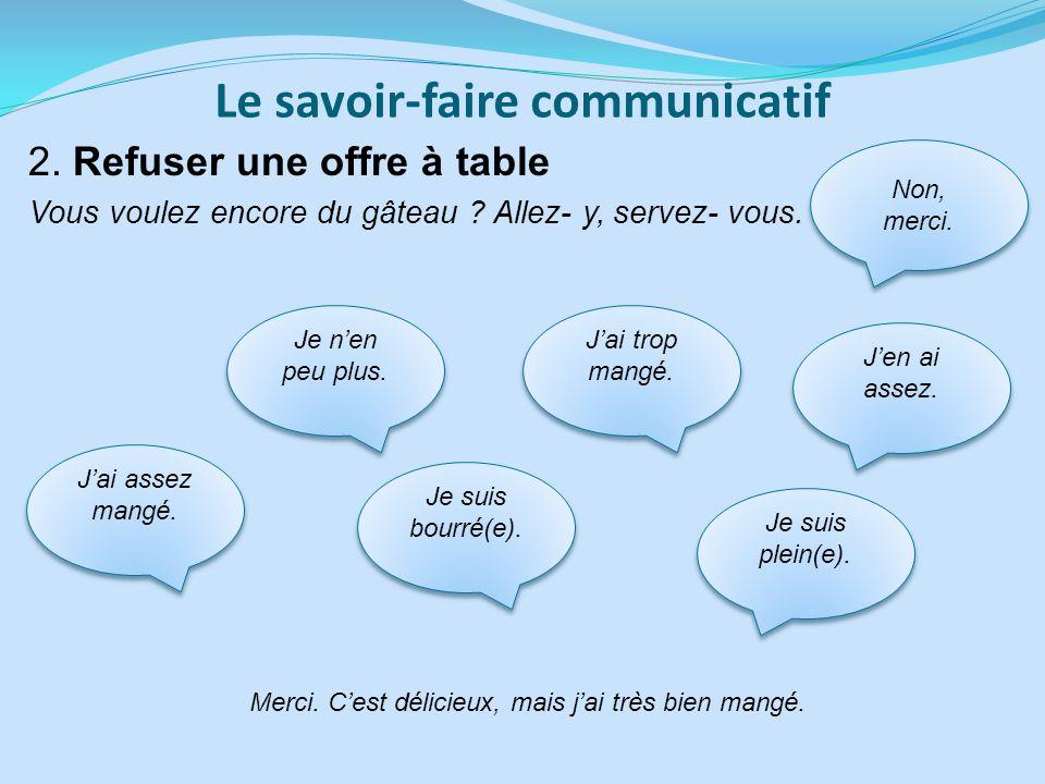 Le savoir-faire communicatif