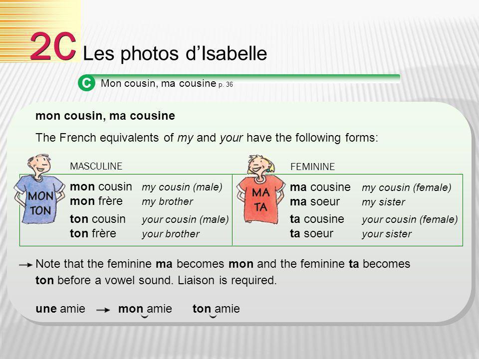 2C Les photos d'Isabelle C mon cousin, ma cousine