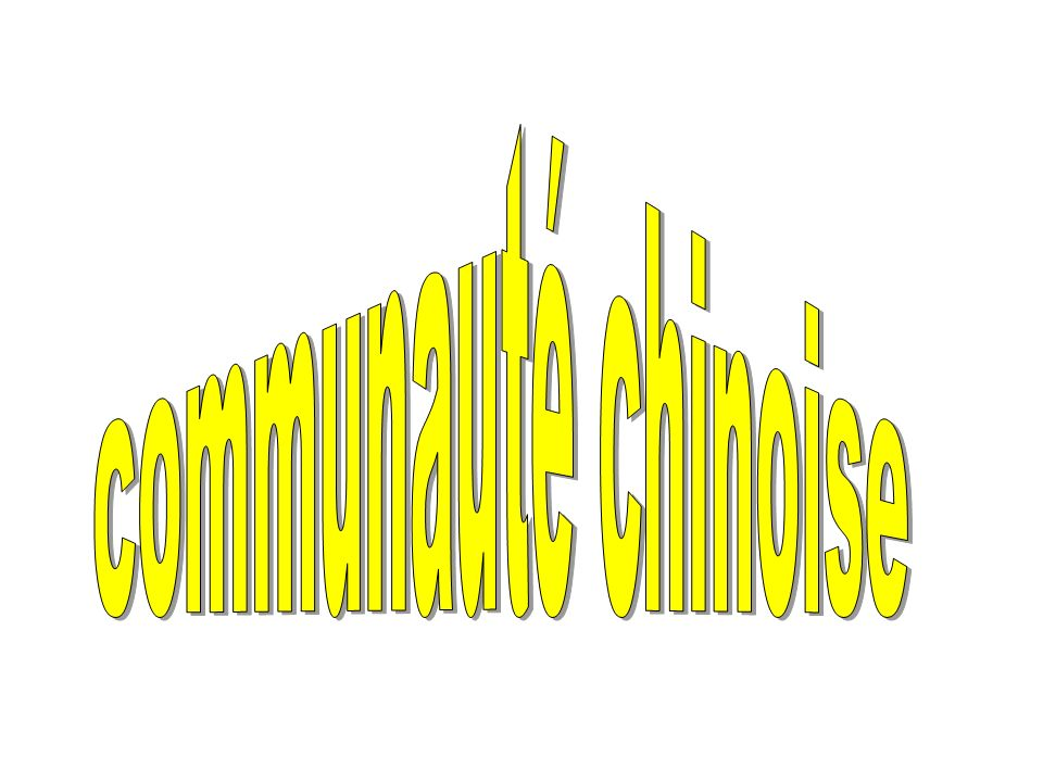 communauté chinoise
