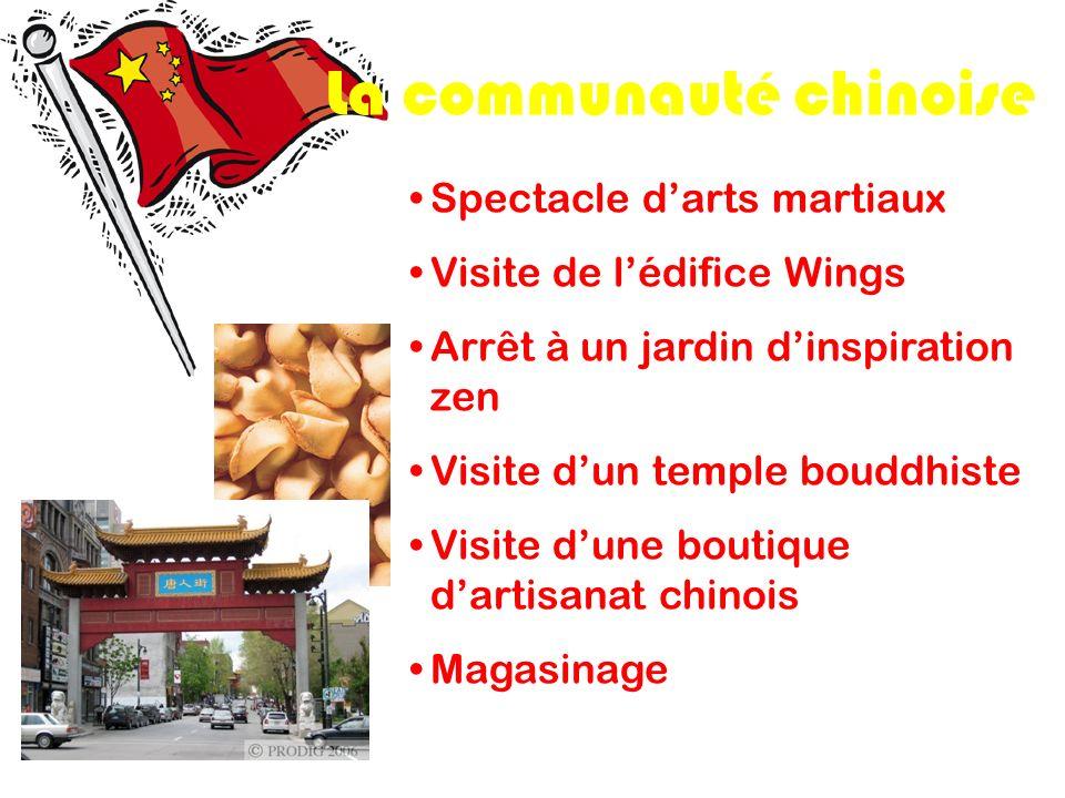 La communauté chinoise