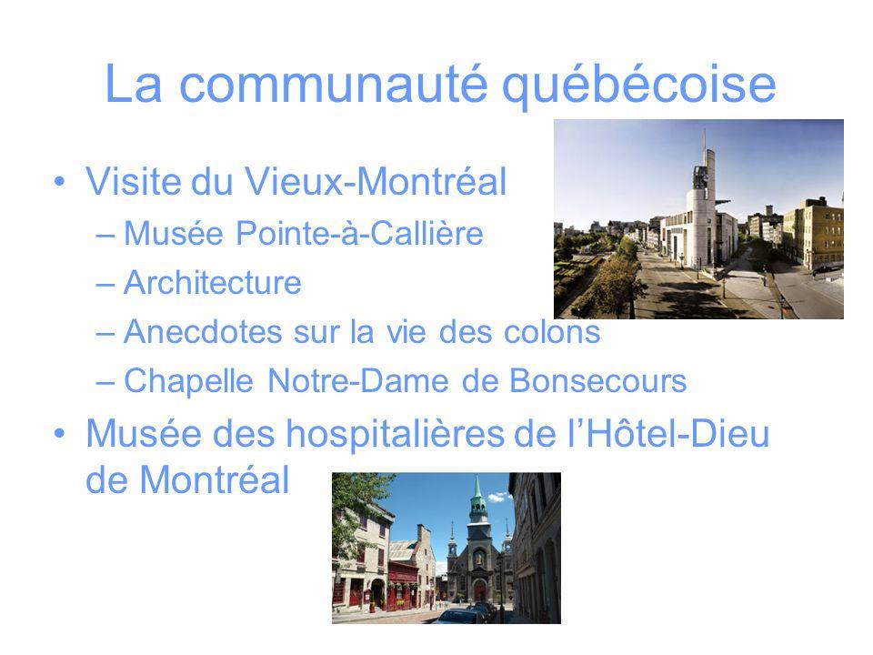 La communauté québécoise