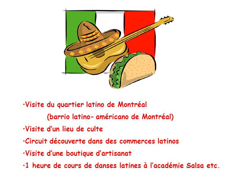Visite du quartier latino de Montréal