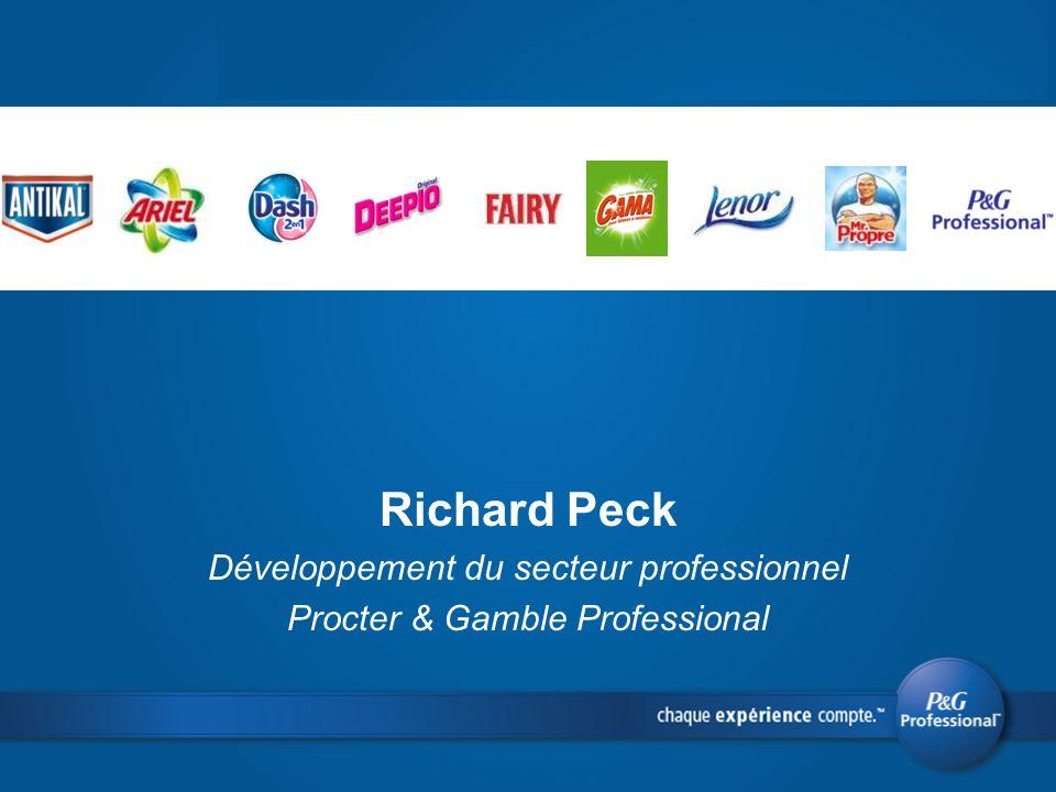 Richard Peck Développement du secteur professionnel