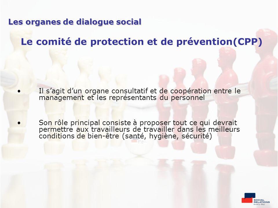 Le comité de protection et de prévention(CPP)