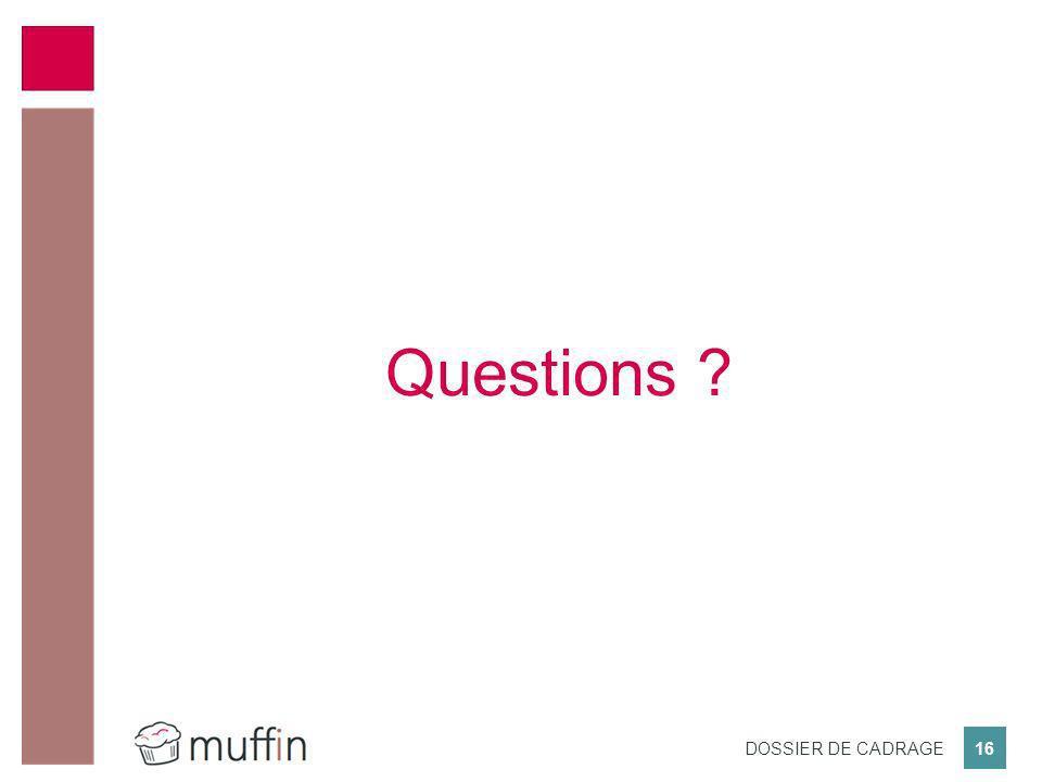 Questions Merci pour votre attention, nous pouvons passer aux questions.