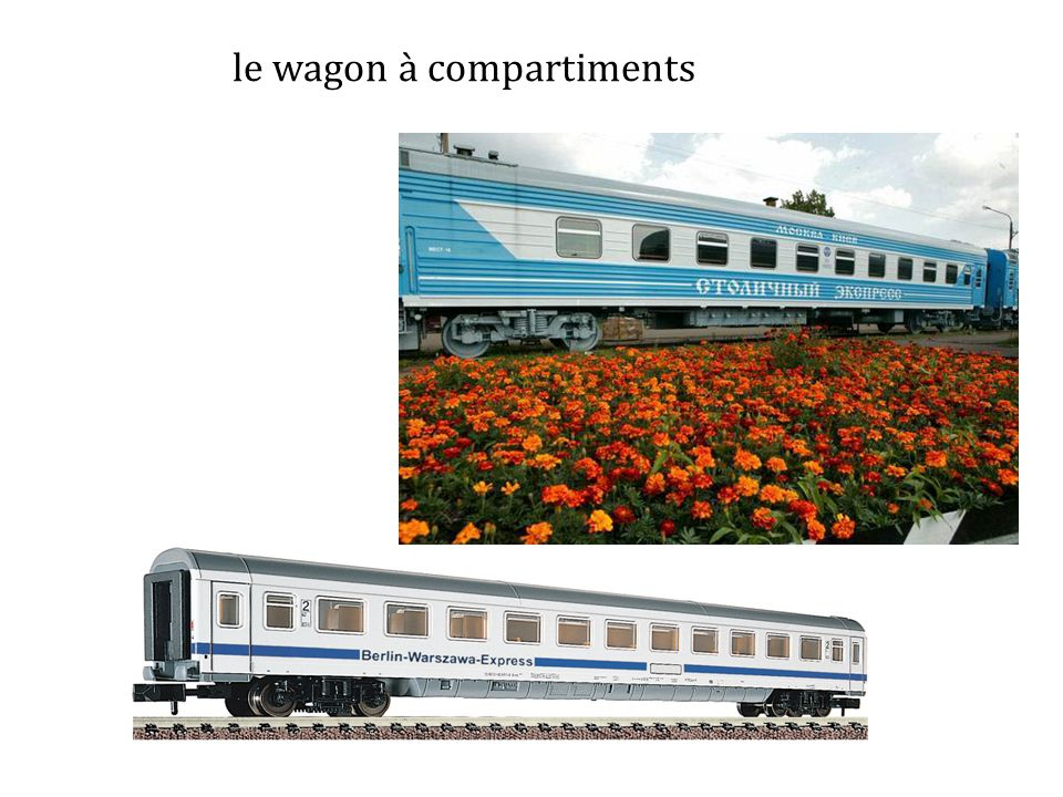le wagon à compartiments