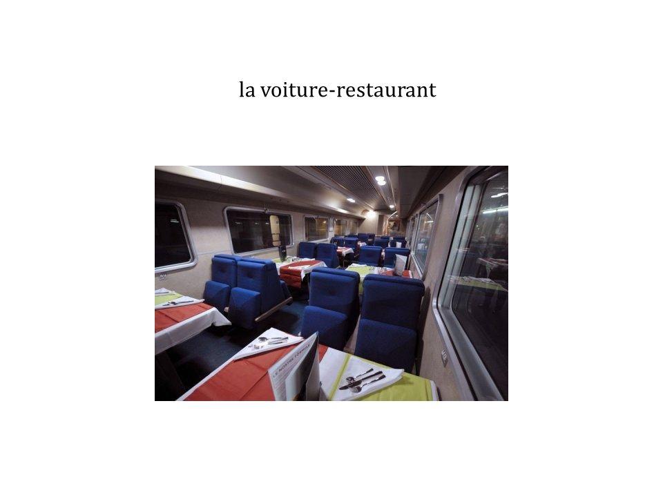 la voiture-restaurant