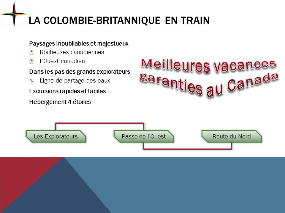 La Colombie-Britannique en train