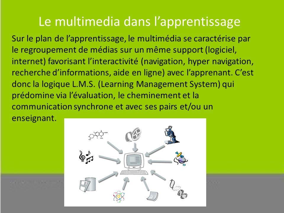 Le multimedia dans l'apprentissage
