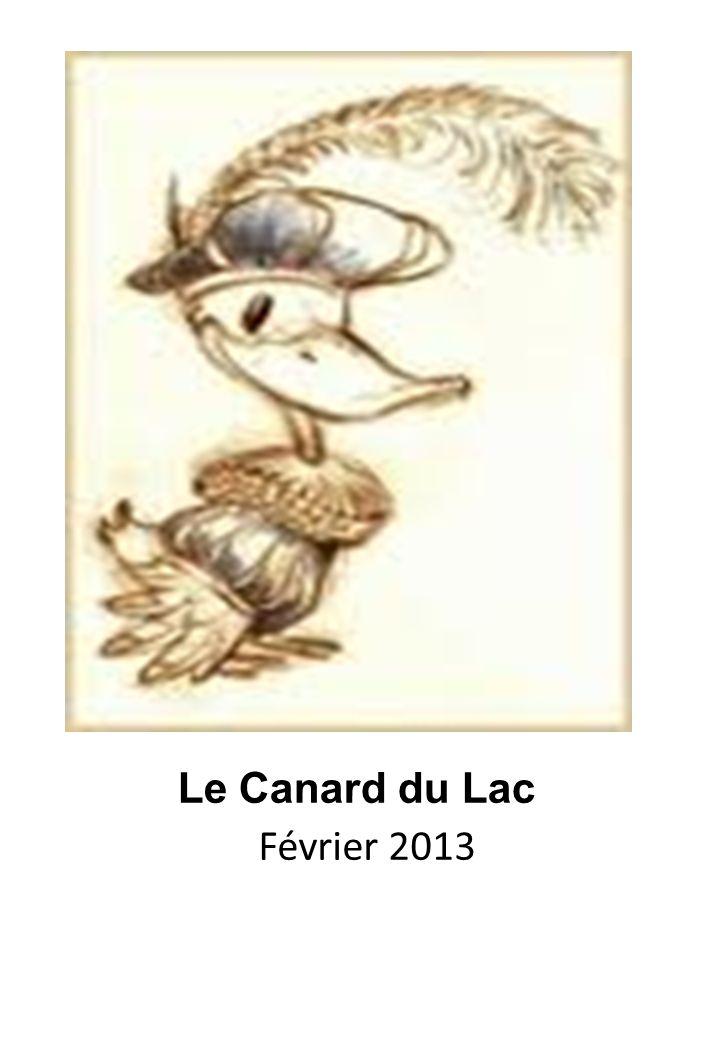 Le Canard du Lac Février 2013