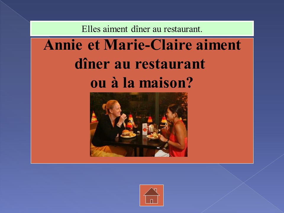Annie et Marie-Claire aiment