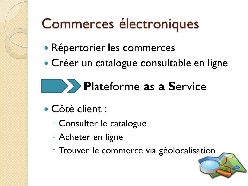 Commerces électroniques