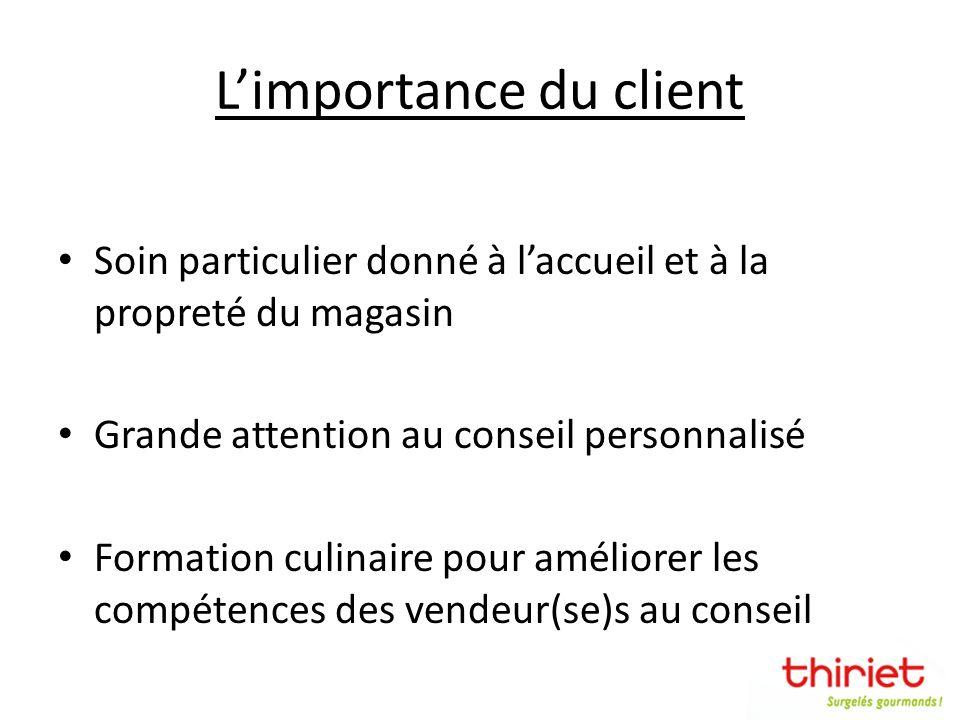 L'importance du client