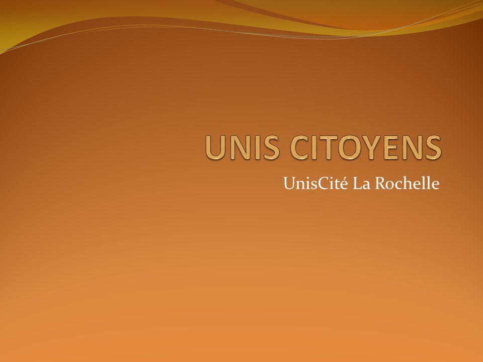 UNIS CITOYENS UnisCité La Rochelle