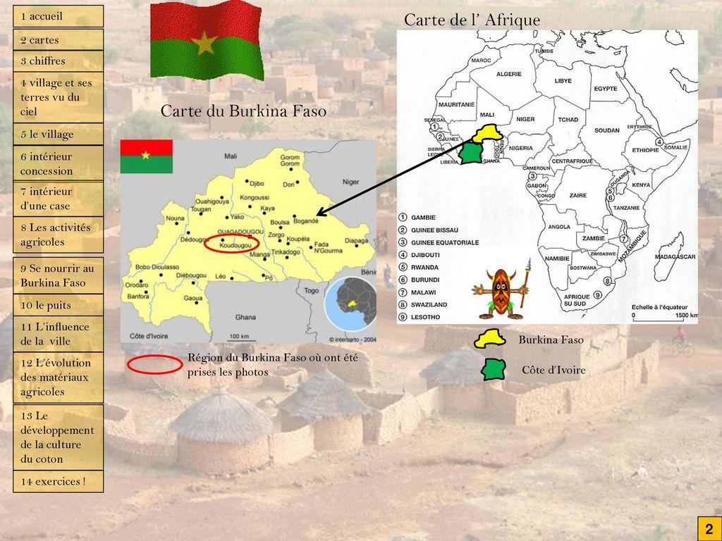 Assez Etude de cas : habiter un village du Burkina Faso - ppt video  IH15