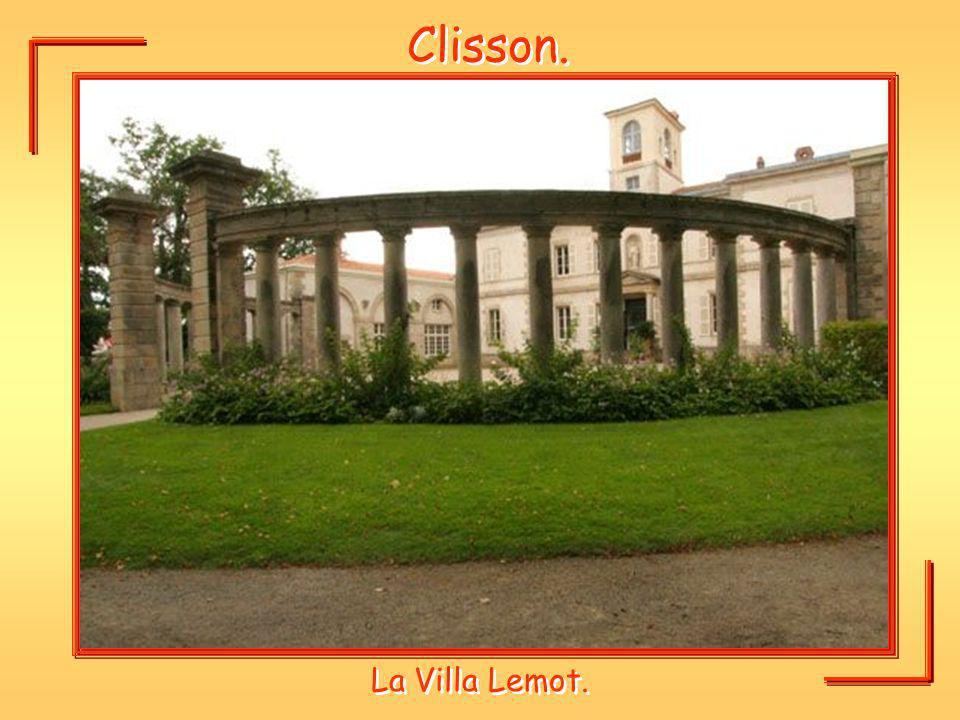 Clisson. La Villa Lemot.