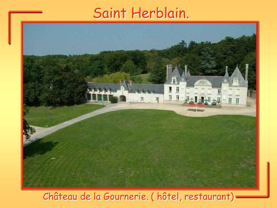 Château de la Gournerie. ( hôtel, restaurant)