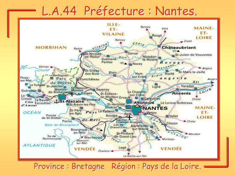 Province : Bretagne Région : Pays de la Loire.