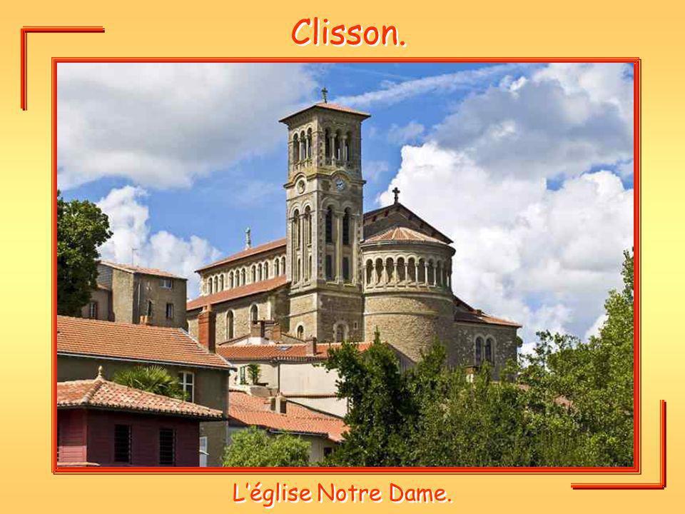 Clisson. L'église Notre Dame.