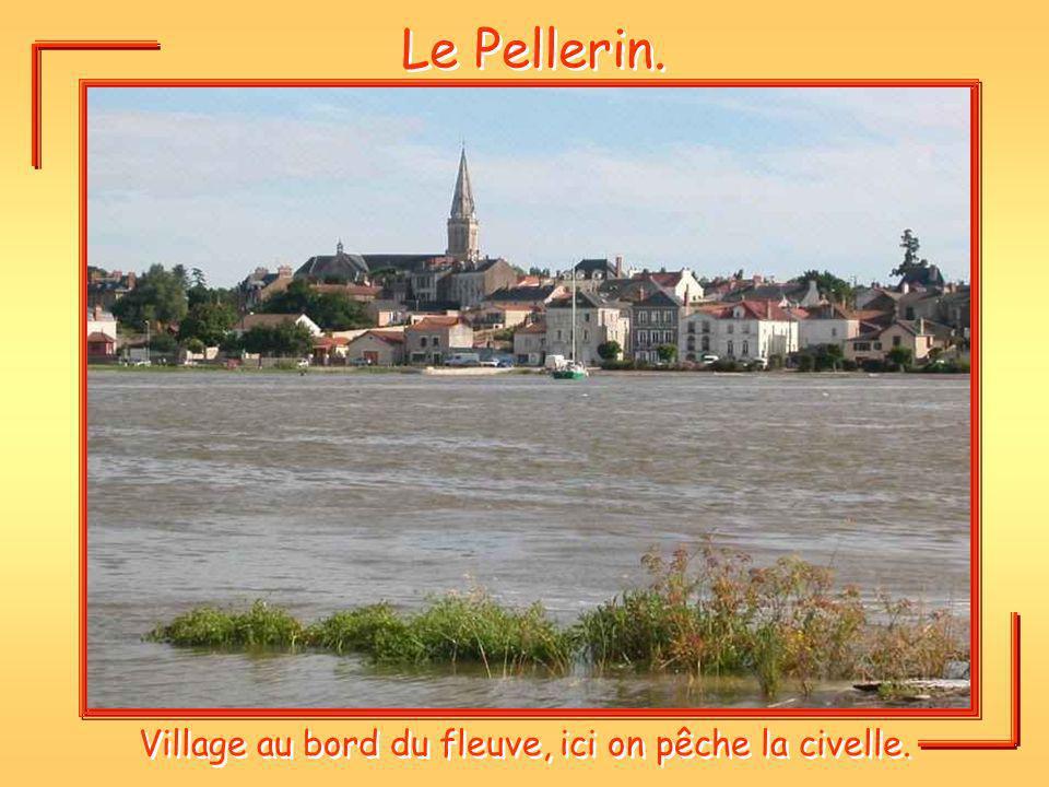 Village au bord du fleuve, ici on pêche la civelle.