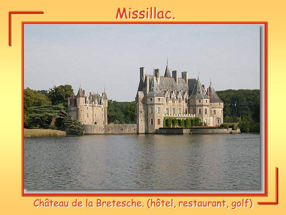 Château de la Bretesche. (hôtel, restaurant, golf)