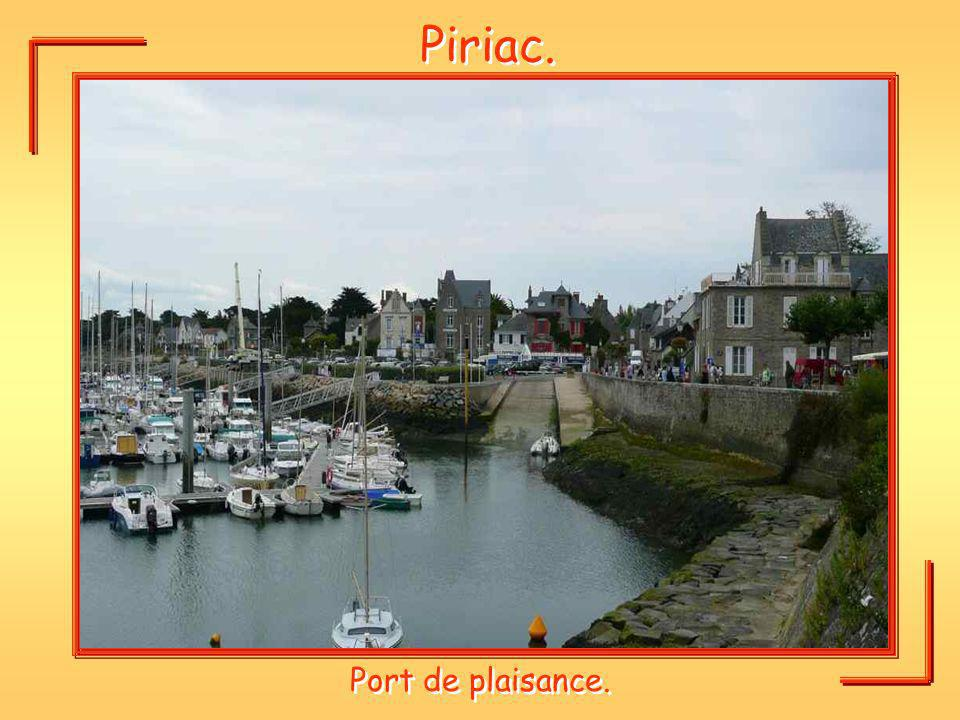 Piriac. Port de plaisance.