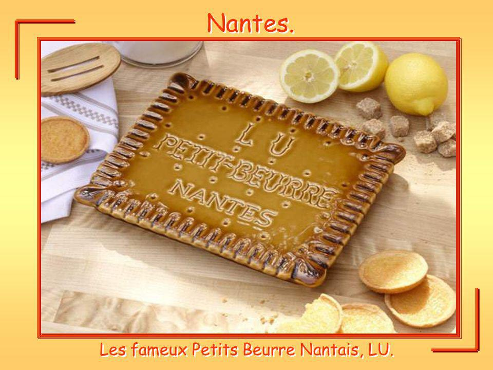 Les fameux Petits Beurre Nantais, LU.